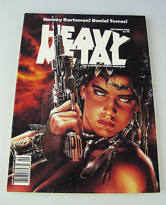Heavy Metal Sept 1990 / William Stout Harvey Kurtzman Daniel Torres Adamov