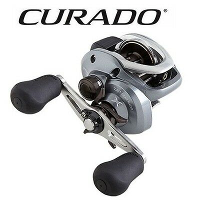 5efe92e262c Shimano Curado 200HG Baitcast Reel 7.2:1 Right Hand 200IHG Model CU-200IHG