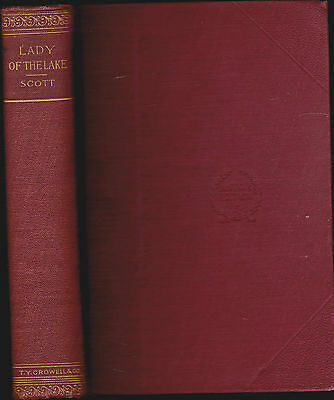 The Lady of the Lake by Sir Walter Scott Thomas Y Crowell HC