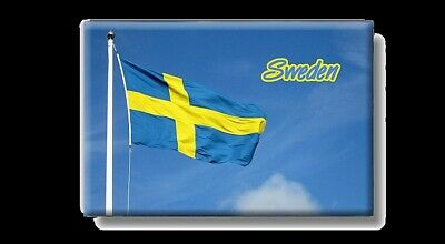 Schweden Flagge Foto Magnet Sweden Flag Souvenir Fridge,New