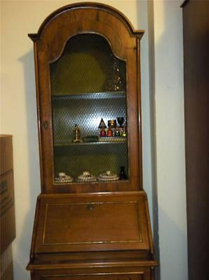 Extremely Rare Antique Italian Furniture Small Cupboard  / Cabinet / Book Shelf