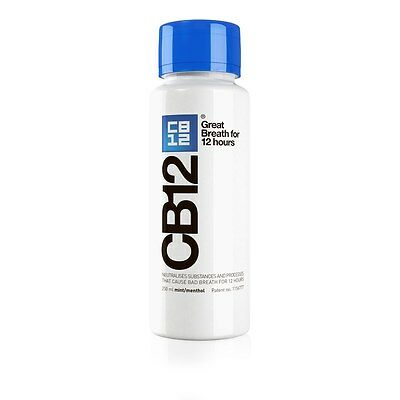 CB12 Mouthwash Original (Mint / Menthol) 250ml (New bottle design)