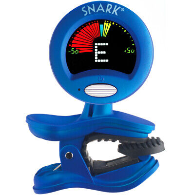New Snark Sn-1 Chromatic Headstock Tuner For Guitar, Bass, Uke, Banjo & More Sn1