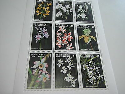 St. Vincent & Grenadines-Flowers-Orchids