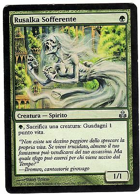 Rusalka Sofferente - Starved Rusalka carte MAGIC Guildpact (ITALIAN CARD) VG