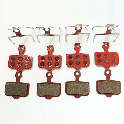 4 Pairs Disc Brake Pads for Avid Elixir 3/5/7/C/R/CR,Avid Carbon,X9,XX WORLD CUP