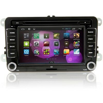 Android 4.1 HD Car DVD GPS Player Navigation for VW Volkswagen 3G TV Capacitive