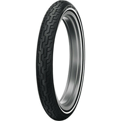 Dunlop D402 Series MH90-21 Medium White Wall Front Motorcycle Tire
