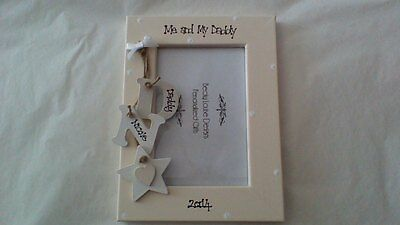 Me and My Daddy Grandad Personalised Photo Frame 6x4 5x7 8x6 10x8