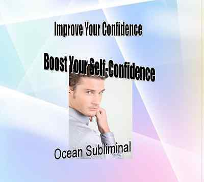 Boost Your Confidence- Improve Your Self Confidence Ocean Subliminal CD