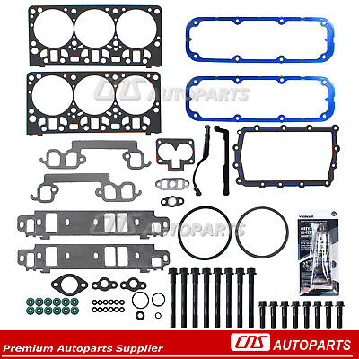 98-03 Dodge Dakota Durango Ram 3.9L Head Gasket Set Bolt Kit Ref # HS9910PT-1