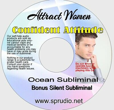 Subliminal CD Attract Women- Become Self Confident with Women Ocean  Self Help