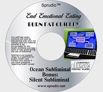 Subliminal CD End Emotional Eating- Eat Less & Healthy Brainwaves Ocean