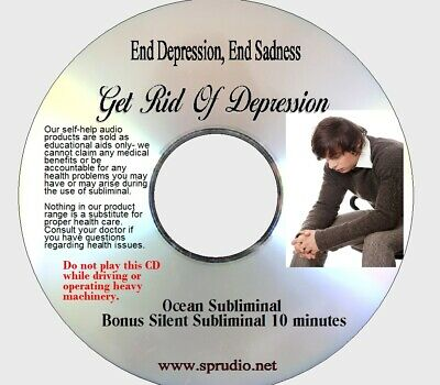 End Depression, End Sadness Free Yourself From Depression, Ocean Subliminal CD