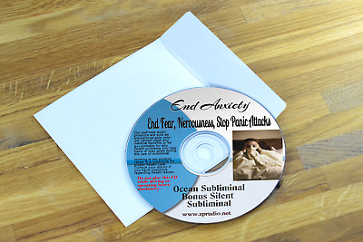 Subliminal CD , End Anxiety, Panic, Fear, Nervousnes ,Worrying Subliminal Ocean