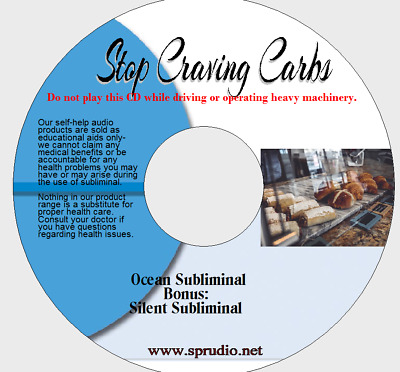 Stop Craving Carbs -Weight Loss and Diet Keeping Helper Ocean Subliminal  CD