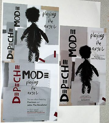 DEPECHE MODE US Mute / Sire 2005 Playing The Angel Promo Poster Lot Set Of 3