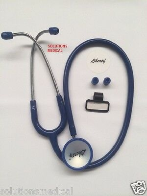 Stethoscope Doctors Dual Head Professional Royal Blue