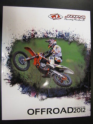 Jopa Racing Products Catalogus 2012 (Offroad en Onroad)