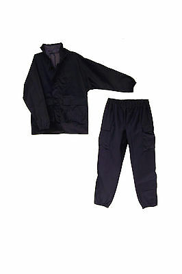 FRH2ONB FR Navy Blue Non Seam Sealed Rainsuit Size 2XL