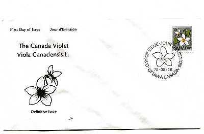 Canada 787 15c Definitive, Violet, NR-COVERS,  FDC