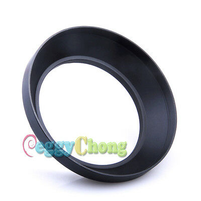 10x 62mm Wide Angle Metal Lens Hood for Canon Nikon Sony Olympus FUJI Pentax