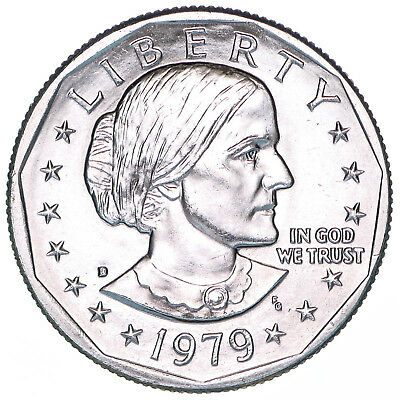 1979 D Susan B Anthony BU Dollar US Mint Coin