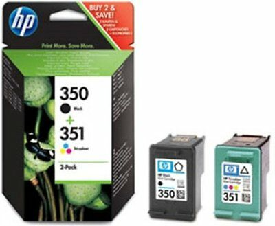 Original HP 350 351 Black & Colour Ink Cartridges C4280 C4380 C4580 C4480 J5780