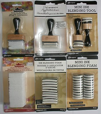 Ranger Blending Tool - Alcohol ink tool, Mini Blending tool & Refills for all