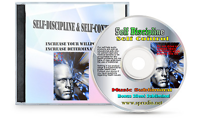 Self Discipline Self-control, Increase Your Willpower, Music Subliminal  CD
