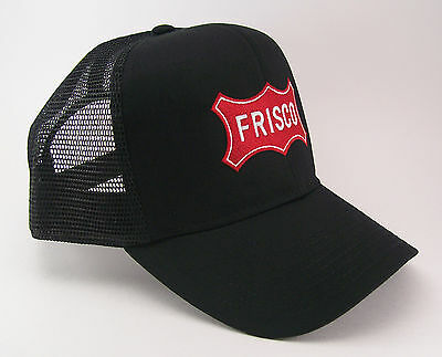 Frisco Railroad Red Embroidered Mesh Cap Hat #40-1860BM