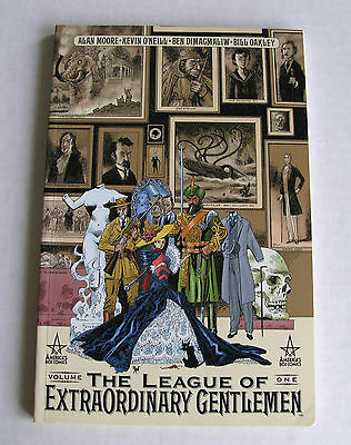 The League Of Extraordinary Gentlemen Volume One First Printing
