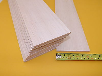 """915mm Mineral Stains 75mm Long x 3/"""" Wide Balsa Wood Sheet 36/"""""""