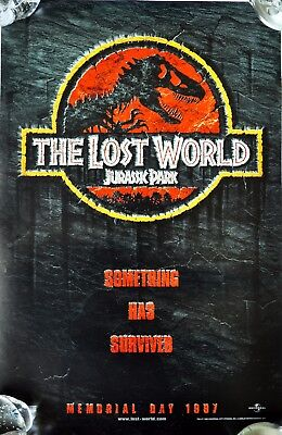 """""""THE LOST WORLD Jurassic Park"""" 1997 Movie POSTER"""