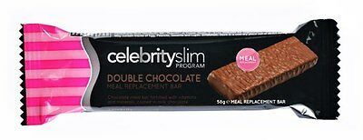 Celebrity Slim Meal Replacement Bars - Double Chocolate (Multi Listing)