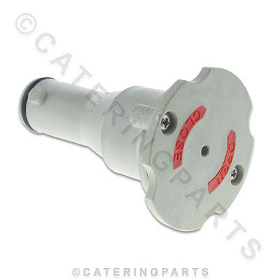 Comenda 180724 Overflow Pipe / Plug With Twist Lid For Dishwasher / Glasswasher