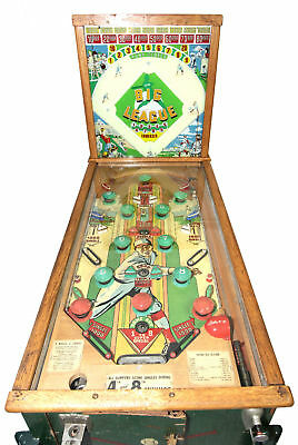 ****PRICE DROP***1946 Bally's Big League Pinball Game, Complete