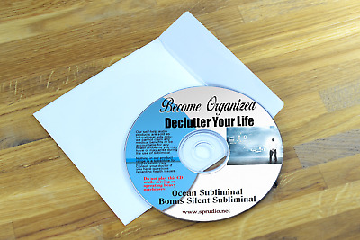 Become Organized; Declutter Your Mind and Life Ocean  Subliminal Self Help CD