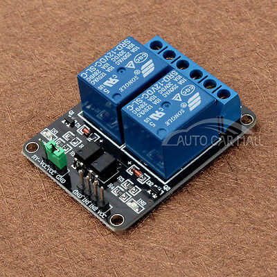 12V 2 Channel Relay Module With optocoupler For PIC AVR DSP ARM for Arduino