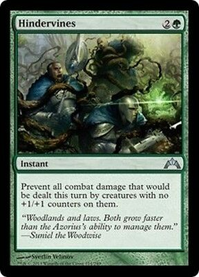 MTG Magic GTC - (4x) Hindervines/Barrelianes, English/VO
