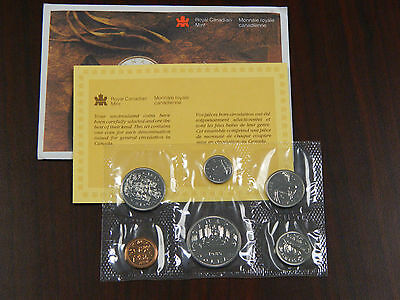1985 Proof Like Set - Uncirculated - Certificate - Royal Canadian Mint Issue