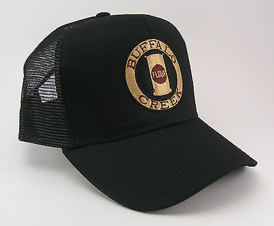 Buffalo Creek Railway Railroad Mesh Cap Hat 40-1231BM