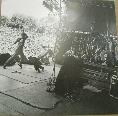 Rage Against the Machine Live Lithograph print New