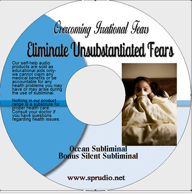 Overcoming Irrational Fears – General Aid  Ocean Subliminal Messages CD