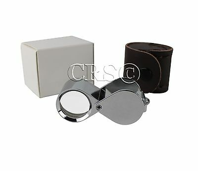 Jewelers Loupe 10X Premium Magnifier Hastings Triplet Optics Professional Grade