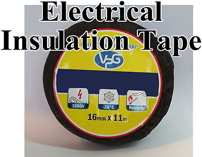 Wiring Loom Adhesive Cloth Fabric Insulating Cable Harness Tape 16mm x 11m