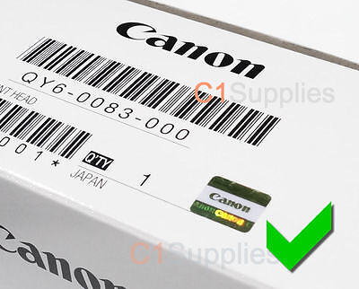 Original Canon Druckkopf QY6-0083-000 New Printhead ip8750 MG6350 MG7150 MG7750