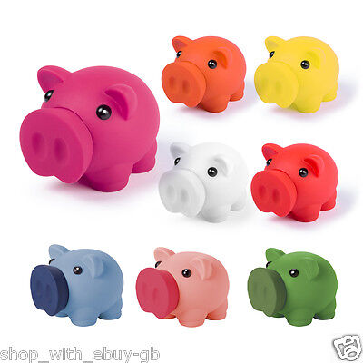 PIGGY BANK - Pig Money Box for Coins & Cash - Novelty Childrens Saving Bank