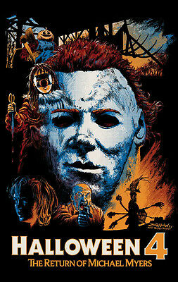 Halloween 4: The Return Of Michael Myers (1988) Movie Script Screenplay Reprint