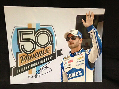 NEW Jimmie Johnson #48 Autographed Signed 8 x 10 Picture NASCAR Lowes